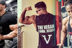 Vegan body-builders who are big and beefy – without any beef in their diet – include Torre Washington, Patrik Baboumian and Nimai Delgado. Diet Motivation Pictures, Diet Motivation Funny, Meal Prep Companies, Food Trucks Near Me, Diet Inspiration, Make Ahead Lunches, Healthy Cat Treats, Image Healthy Food, Plant Based Diet