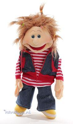 Ronja. 65 cm grote Living Puppets menspop bij Handpop.nl