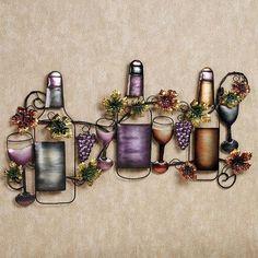 Wine Tasting Wall Sculpture