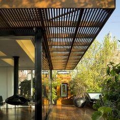 Ghiora Aharoni Ghiora Aharoni Design Studio is a multi-disciplinary studio of interior design art and furniture design in New York City which was established in Exterior Design, Home Interior Design, Interior And Exterior, Pergola Patio, Backyard, Pergola Kits, Pergola Ideas, Outdoor Spaces, Outdoor Living