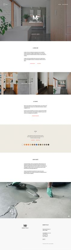 identité digitale   stratégie digitale   webdesign   Manenti Fellay Béton ciré  #digitalidentity #digitalstrategy #webdesign #verbier #valais #lausanne Identity, Web Design, Lausanne, Desktop Screenshot, Studio, Shopping, Design Web, Studios, Personal Identity