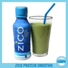 Recipe includes almond milk, kale, spinach, bananas, dates and ZICO Coconut Water. Healthy Smoothies, Healthy Drinks, Get Healthy, Smoothie Recipes, Zico Coconut Water, Coconut Water Recipes, Healthy Shakes, Protein Shakes, Eat For Energy