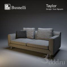 """PROFI"" busnelli taylor 3dsMax 2010 + obj (Vray) : Диваны : Файлы : 3D модели, уроки, текстуры, 3d max, Vray"