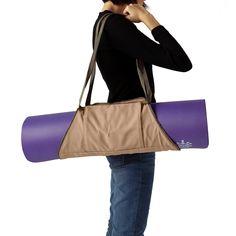 Yoga Mat Bag Carrier Tote Adjustable to Fit Any Yoga Mat Khaki    More info 8b8c430d4c125