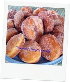 Graffe come quelle del bar Italian Cookies, Churros, English Food, Vegan Cake, Frappe, Vegan Baking, No Bake Desserts, Italian Recipes, Love Food