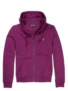 Lyle and Scott ML215CL Zip Through Hoody, from http://www.ApacheOnline.co.uk