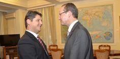 Ministrul Titus Corlăţean, a avut astăzi, 17 septembrie 2014, o întrevedere cu Gunther Krichbaum, preşedintele Comisiei pentru Afaceri Europene a Bundestag-ului