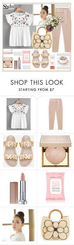 """Shein."" by natalyapril1976 on Polyvore featuring Mode, Max&Co., Stila, Maybelline, Charlotte Tilbury, Accessorize, GABALMANIA und Mar y Sol"