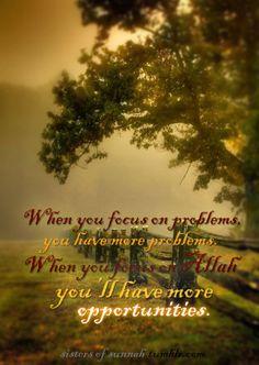 Your focus