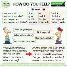 How do you feel?, #spokenenglish