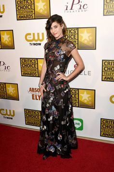 2014 Critics' Choice Television Awards Red Carpet - Lizzy Kaplan