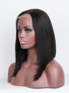 Human Hair Full Lace Wig - X1893