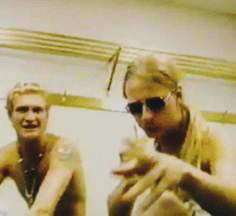 Layne Staley and Jerry Cantrell interview at Clash of the Titans