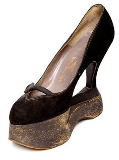 Cool Lady Gaga Dress Mae West Screen Shoe - 1930's...I wonder if this was because she was so shor... Check more at http://24shopme.tk/fashion/lady-gaga-dress-mae-west-screen-shoe-1930s-i-wonder-if-this-was-because-she-was-so-shor/