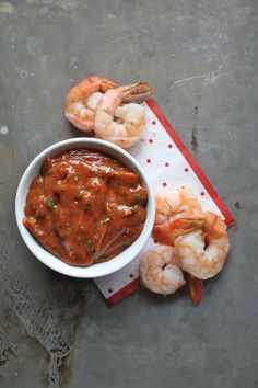 Shrimp Cocktail with homemade cocktail sauce