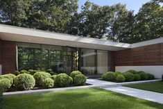 Depiction of Gorgeous Architecture Design of New Canaan Residence  Located in Connecticut