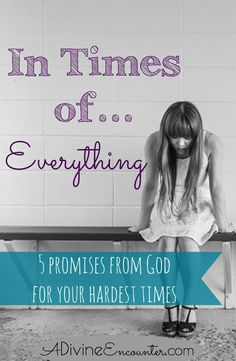 must-read for Christians! Profound post considering five promises in Isaiah assuring help from God in times of trouble. Adversity Quotes, Overcoming Adversity, Moments Difficiles, Isaiah 41 10, Proverbs 31 Woman, Everlasting Life, Bible Prayers, Gods Promises, Godly Woman