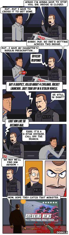 """The Highest Crime in Liberty City"" #dorkly #geek #gtav"