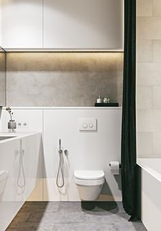 What do white, cream, natural wood, and grey all have in common? They are all color hues included in these two homes from Architectural & Construction Group Bathroom Inspo, Bathroom Layout, Bathroom Inspiration, Modern Bathroom, Small Bathroom, Bathroom Ideas, Restroom Design, Bathroom Interior Design, Home Interior
