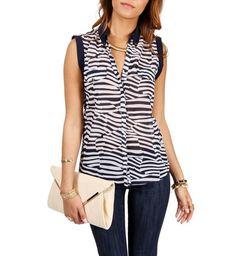 Modelos de blusas frescas para el verano 2013