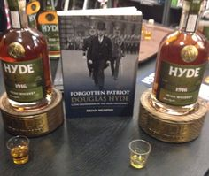 ROSCOMMON: BOOK LAUNCH: Join us at the Douglas Hyde Interpretative Ctre in Frenchpark, Co.Roscommon TONIGHT at 6pm. Free Whiskey! #hydewhiskey
