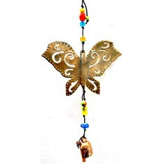 Maharani Imports Handmade Isn't It Lovely Butterfly Wind Chime