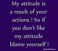 Attitude;)