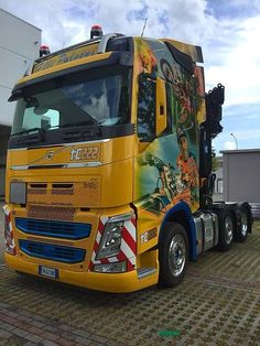 Cool Trucks, Big Trucks, Volvo Trucks, Peterbilt, Tractors, Automobile, Vehicles, Retro Vintage, Layout