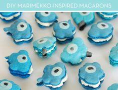 How to make designer Merimekko-inspired macarons!