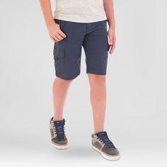 Wrangler Boys' Explore Outdoor Cargo Shorts Blue 12