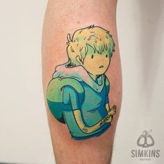Finn, adventure time tattoo