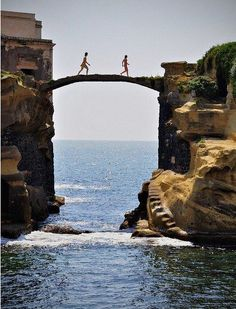 Giaola Bridge, Naples ,Italy