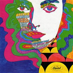 I like this album because it looks very abstract, as if the paint is merging into a women's face. The pattern on the bottom right corner is very interesting and its color does not distract its audiences.