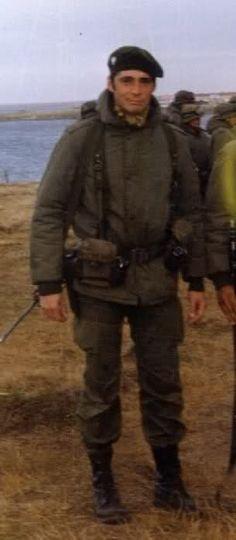Teniente Estévez - RI-25 Falklands War, Clint Eastwood, Figure Painting, Joker, Army, Military, History, War, Military Uniforms