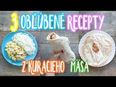 3 obľúbené recepty z kuracieho mäsa Grains, Rice, Den, Youtube, Food, Meal, Eten, Meals, Youtubers
