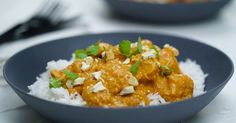 How to make butter chicken often causes debates in kitchens across the country. But help is at hand. We reveal our top butter chicken recipes, including easy versions, creamy versions, and even kid-friendly versions. Slow Cooked Butter Chicken, Baked Chicken, Slow Cooker Recipes, Cooking Recipes, Gf Recipes, Healthy Cooking, Cooking Tips, Indian Food Recipes, Ethnic Recipes