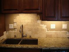 santa cecilia granite backsplash ideas - Google Search