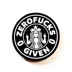 THIS ZERO FUCKS MORALE PATCH SAYS IT ALL...... THIS IS A LIMITED EDITION PATCH AND AVAILABLE IN TWO COLOR OPTIONS. DON'T MISS OUT ON THIS ONE. *This beautiful patch collaboration is brougt to you by b