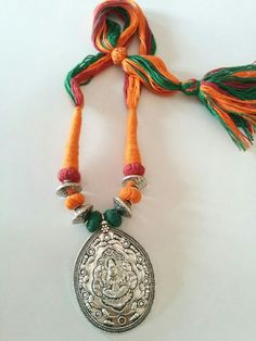 Hand-crafted Goddess German silver Necklaces