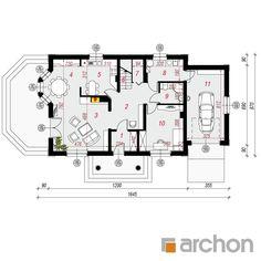 Dom w aksamitkach 3 Decoration, Floor Plans, Diagram, Decor, Decorations, Decorating, Floor Plan Drawing, Dekoration, House Floor Plans