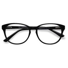 Women's Mars - Black round - 16251 Rx Eyeglasses (€25) ❤ liked on Polyvore featuring accessories, eyewear, eyeglasses, glasses, fillers, lunettes, round glasses, round eye glasses, round eyewear and holiday glasses