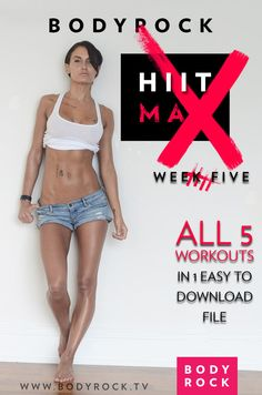 HIIT Max Workouts 21-25: Exercise Substitutions, Alternatives and Added Strength Moves
