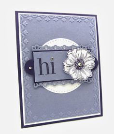 A Flower Shop Sketched Card using the Apothecary Accents Dies, Flower Shop Stamp, Finishing Edgelits Dies from Stampin' Up!