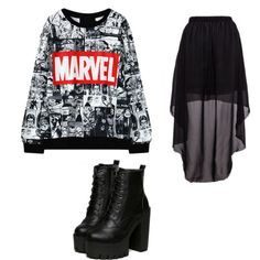 Marvel girl by ariannamarie01 on Polyvore featuring polyvore and beauty