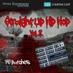 123creative.com releases Straight Up Hip Hop Vol.2 - MASSIVE PRESETS for electronic music production. • Genres: Hip Hop, RnB, Pop, Trap, Urban, Breakbeat, R'n'B. Demosong / More info: http://www.123creative.com/electronic-music-production-massive-presets/1115-straight-up-hip-hop-vol2-massive-presets.html (massive preset bank, massive synth presets, hip hop sounds)