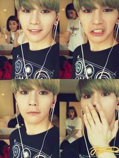 Hansol and A-Tom~ Selfie :D