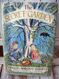 Vintage children's book classic The Secret by LittleBeachDesigns, $14.00