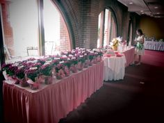 Our Vista Lounge Patio overlooks the golf course, creating a magical view for your baby shower!