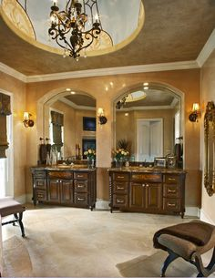 Bathroom design - great his and her vanity sinks! Total Bliss! by ...