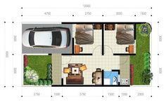 denah rumah tampak atas 3d ideas for the house